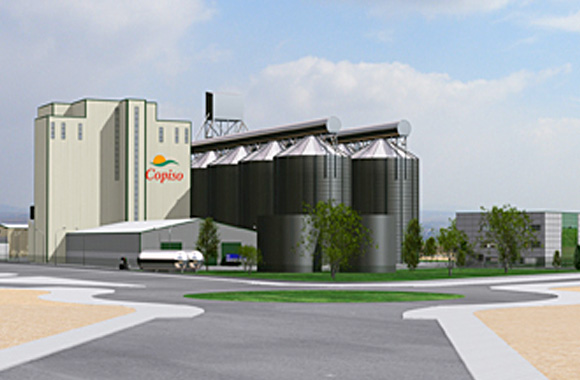 Imagen virtual del aspecto del nuevo complejo industrial.